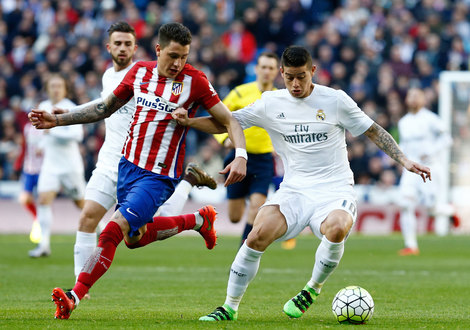Medium james vs atletico