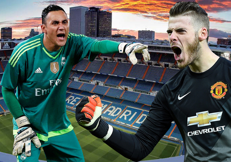 Medium navas vs de gea