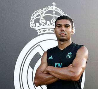 Small casemiro real madrid tv