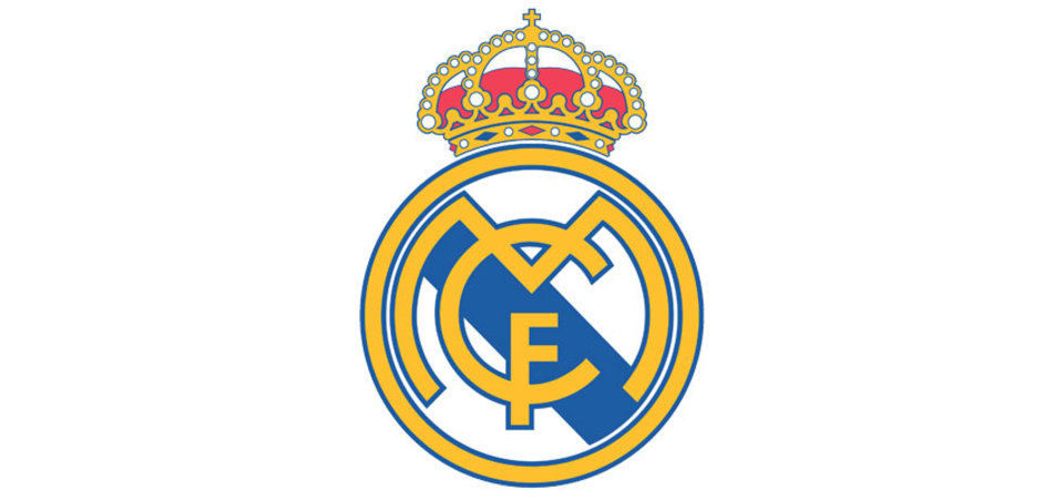 Extra large real madrid logo