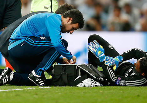 Medium navas injury